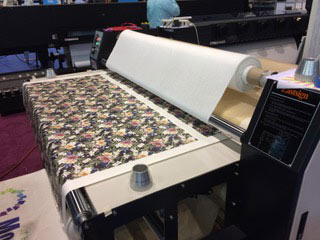"Epson F9370 Dye Sublimation 64"" printer is here! - USA Heat"