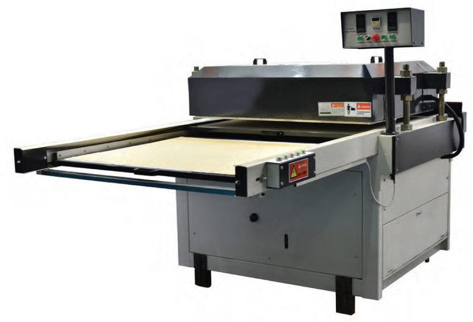 Dye Sublimation Flatbed Heat Press FOT-S Standard Version